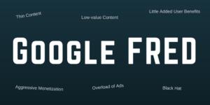 구글 프레드와 타겟 특징