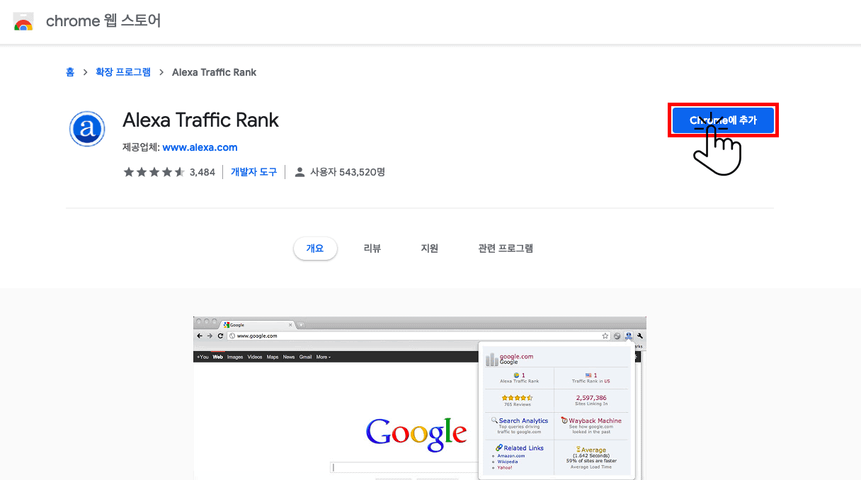 (4)Alexa Traffic Rank