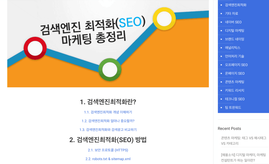 seo marketing summary