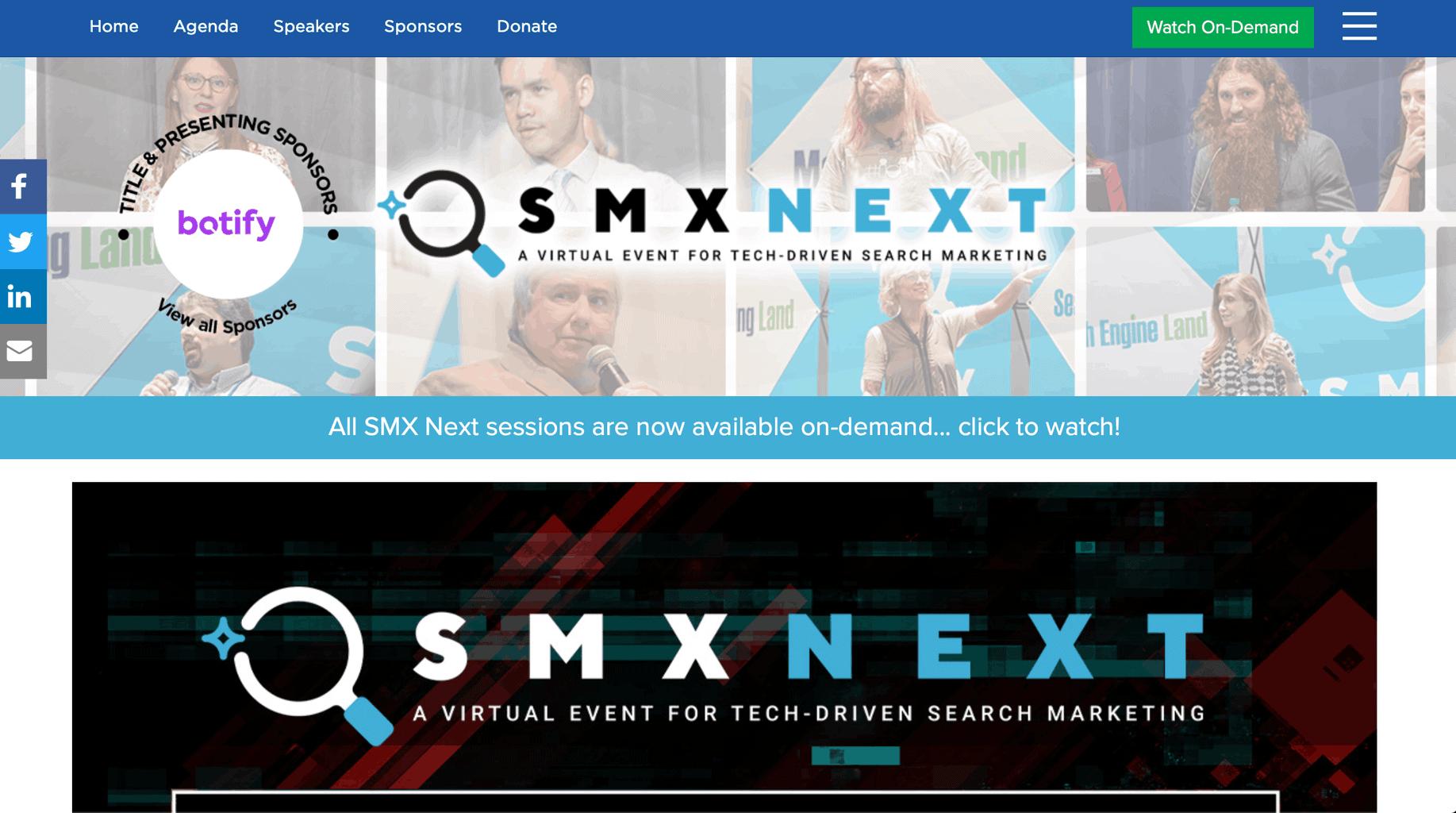 SMX Next - SEO 콘퍼런스